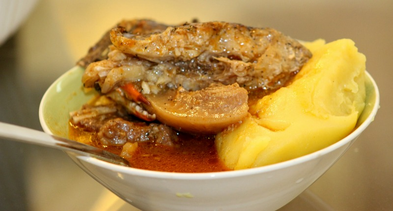 African Soup Cooked in a Crock Pot