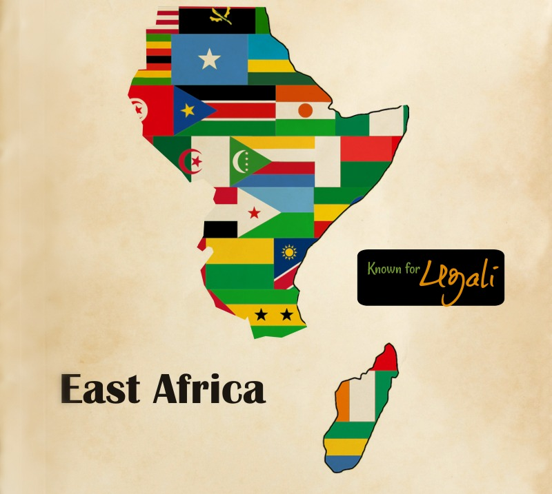 East African Cuisine Map